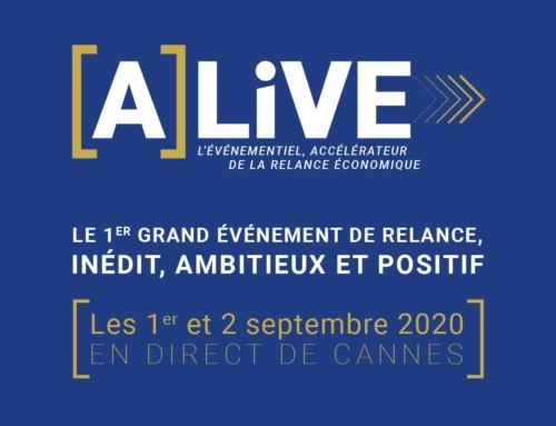 [A]LiVE, le 1er grand événement de relance, inédit, ambitieux et positif